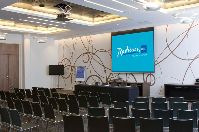 Radisson Blu Hotel Hospitality Multimedia Projection - PAI
