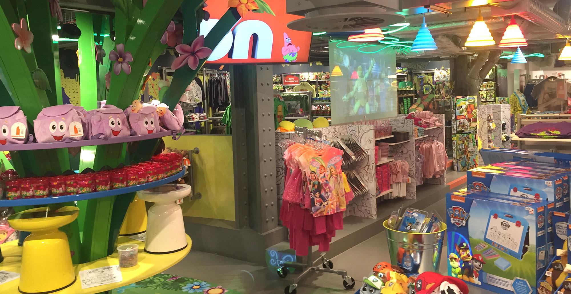 Nickelodeon Store, London - PAI